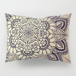 Mandala Green  Pillow Sham