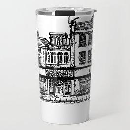 Three Establishments, Whiteladies Road, Bristol. Travel Mug