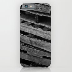 Abstract Wooden Pallets iPhone 6s Slim Case