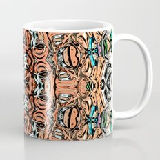 Abstract Orange Sun Coffee Mug