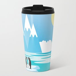 Penguins Travel Mug