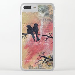 Together - Winter Birds Clear iPhone Case