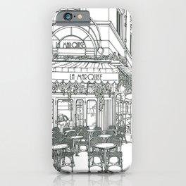 Cafe in Paris iPhone Case