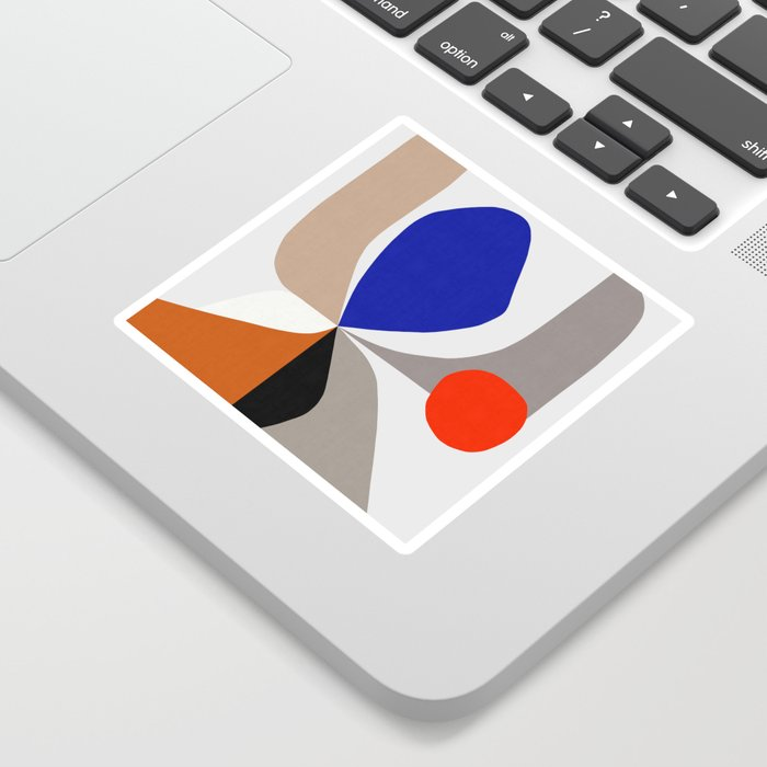 Abstract Art VIII Sticker