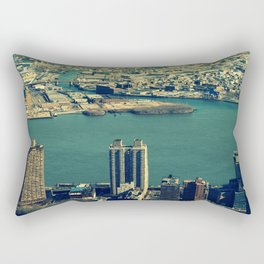 New York Water Rectangular Pillow