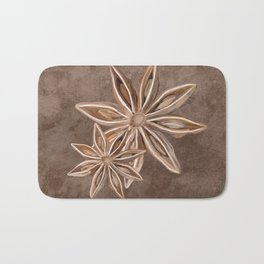 Star Anise Spice Bath Mat