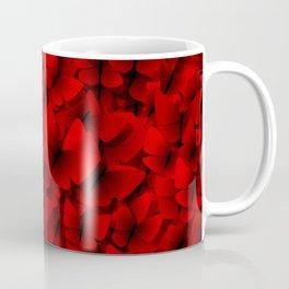 red butterflies Coffee Mug