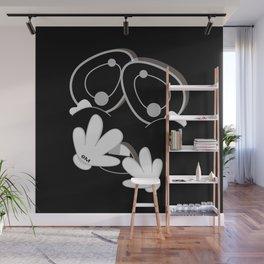 MENSA BLACK SiDE ver. (Original Characters Art By AKIRA) Wall Mural