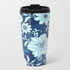 Flower time Metal Travel Mug