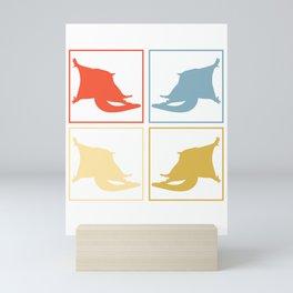 Sugar Glider Pop Art Mini Art Print