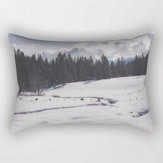 Winter Wonderland II Rectangular Pillow