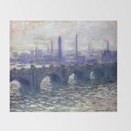 Monet Bridge Throw Blanket