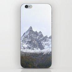 Chamonix Mountain iPhone Skin