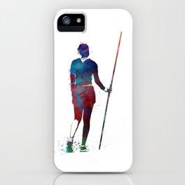 javelin throw #sport #javelinthrow iPhone Case