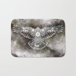 Raven of Fate (colore) Bath Mat