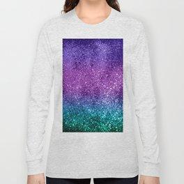 Unicorn Girls Glitter #10 #shiny #decor #art #society6 Long Sleeve T-shirt