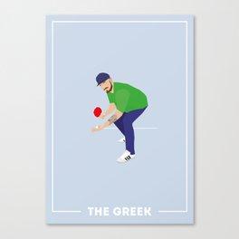 The Greek Canvas Print