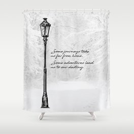 Chronicles of Narnia - Some adventures - CS Lewis Shower Curtain