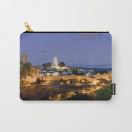 Braganca at dusk, Portugal Carry-All Pouch