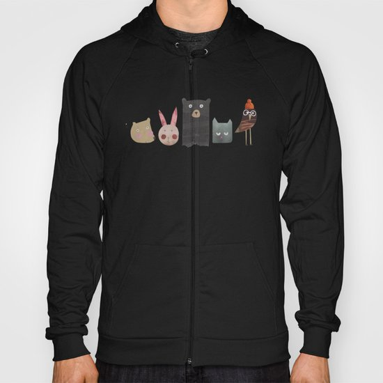Animal love Hoody