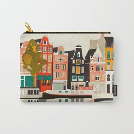 shapes houses of Amsterdam Carry-All Pouch