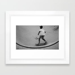 skateboard 1 Framed Art Print