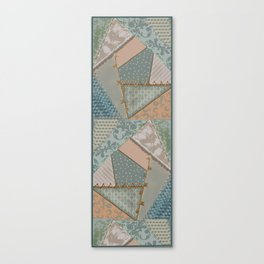 Patchwork Quilting Inspiration Canvas Print