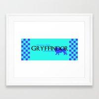 gryffindor Framed Art Prints featuring Gryffindor 1 by A Stolen Tide