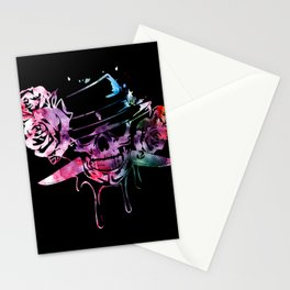 Bloody Blade n Roses Stationery Cards