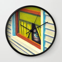 There is something out there... Wall Clock