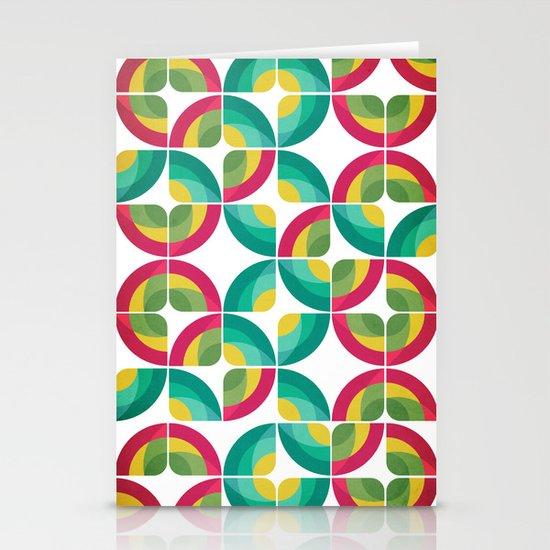 Passion Fruit Pattern Stationery Cards