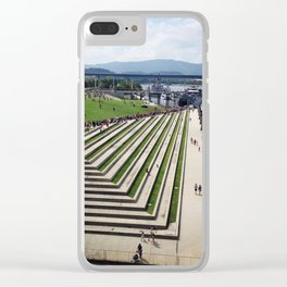 Military Visit Clear iPhone Case