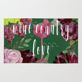 Wine Country Love Rug