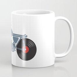 Vinyl Motorcycle Coffee Mug