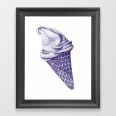 I C E - C R E A M  Framed Art Print