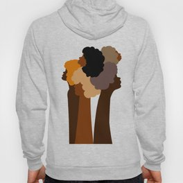 Black Beauties Solid Gold Hoody