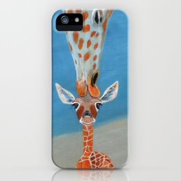 Mom Loves Me iPhone Case