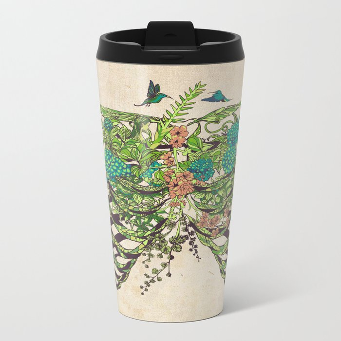 Daydreamer Vintage Metal Travel Mug