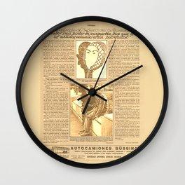 Salvador DALI. First interview. 1928 Wall Clock