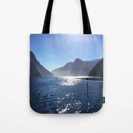New Zealand's beauty *Milford Sound Tote Bag
