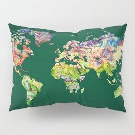 World Map 39 Pillow Sham