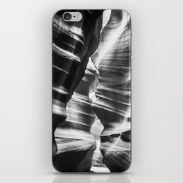 Waves of sandstone at Antelope Canyon iPhone Skin