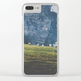 Beartooth Mountain Goats Clear iPhone Case
