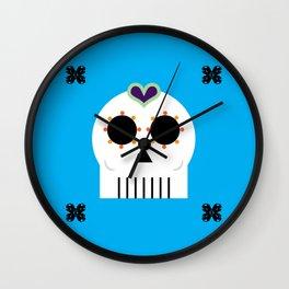 CALAVERITA - SUGAR SKULL Wall Clock