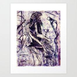 Contortionist Art Print