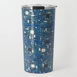 Blue tech Travel Mug