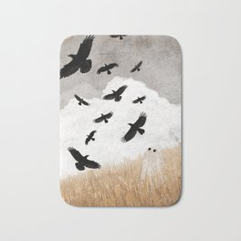 Walter and The Crows Bath Mat