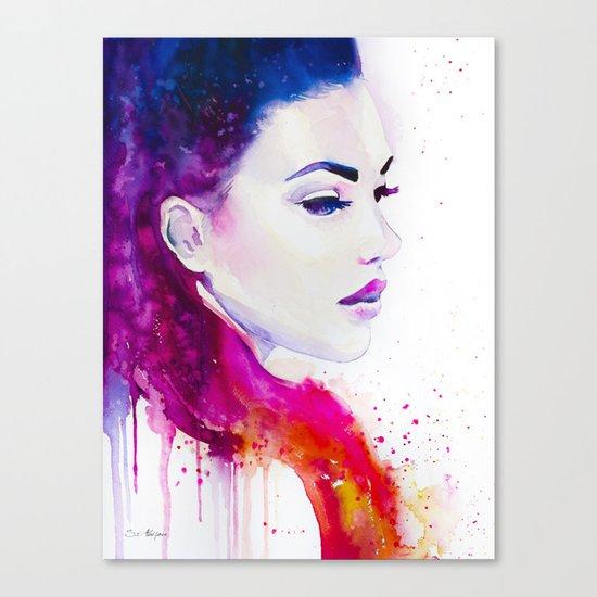 Color illusions Canvas Print