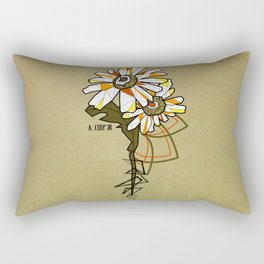 Tournesol - geometrci flower Rectangular Pillow