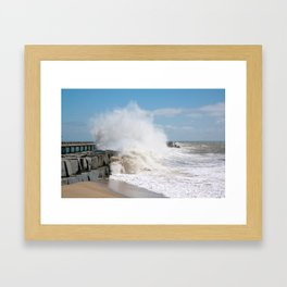 Blustery Day Framed Art Print